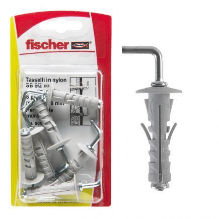 FISCHER Expansion plug with medium hook in blister SB K - 1