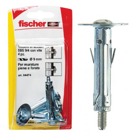 FISCHER Metal fixing with medium hook in blister SBS K - 1