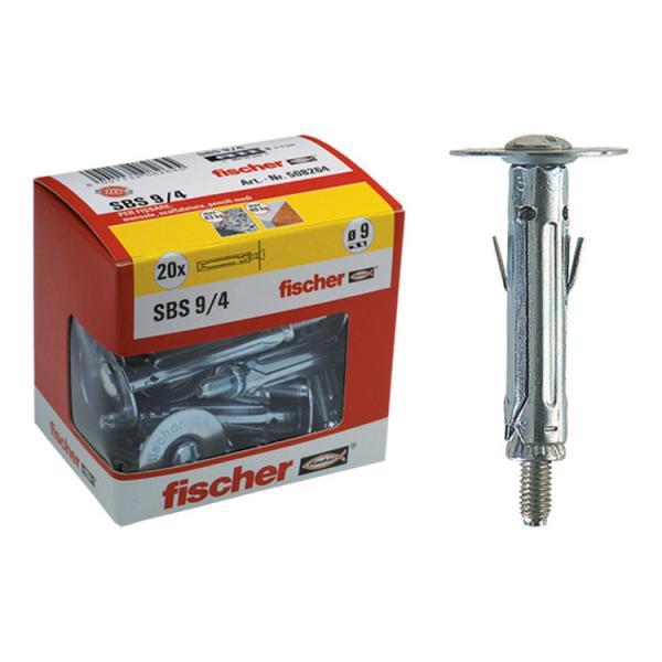 FISCHER Metal fixing with countersunk head screw in box SBS Y - 1