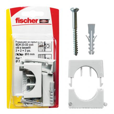 FISCHER Pipe clip SCH K - 1