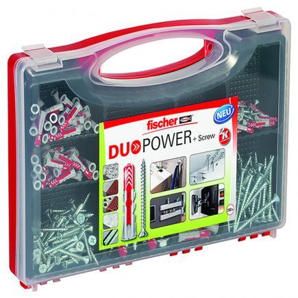 FISCHER Box with screws REDBOX DUOPOWER - 1