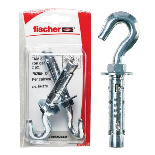 FISCHER Expansion anchor with hook in blister TA M G K - 1