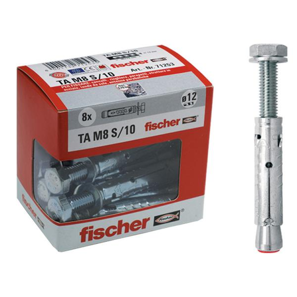 FISCHER Expansion anchor with hexagonal head screw in box TA M S Y - 1