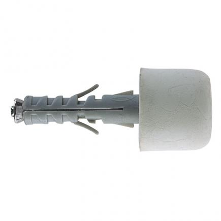 FISCHER Expansion plug with PVC white doorstop SB 9/12 - 1