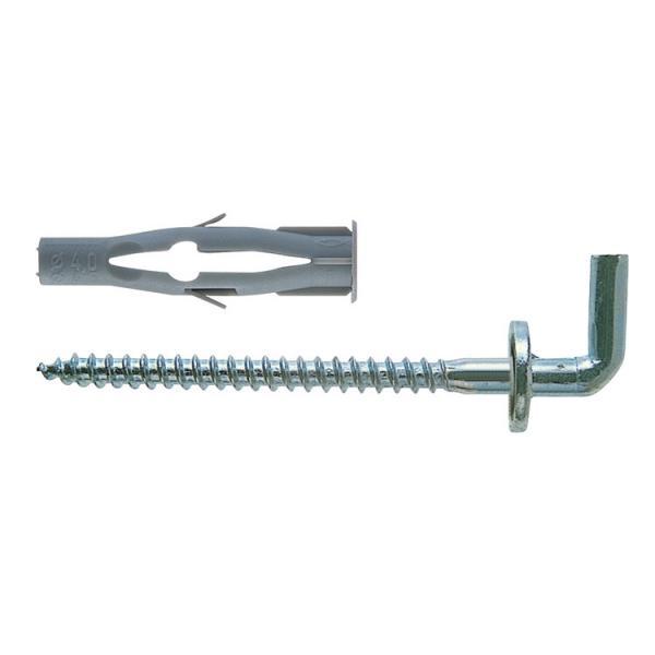 FISCHER Universal nylon plug with hook FU H - 1