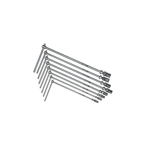 USAG 8-teiliger Schlüsselsatz (Gelenkkopf-Schlüssel) - 1
