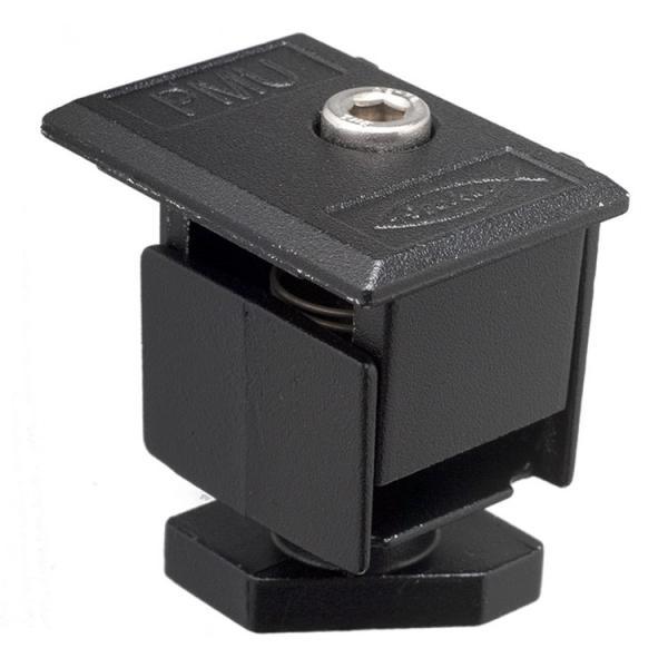 FISCHER Pre-assembled single adjustable clamp black PMU - 1