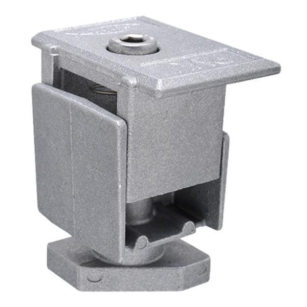 FISCHER Pre-assembled single adjustable clamp grey PMU - 1