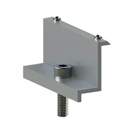 FISCHER Pre-assembled aluminum clamp for Solar-Wind II SW-II-M F - 1