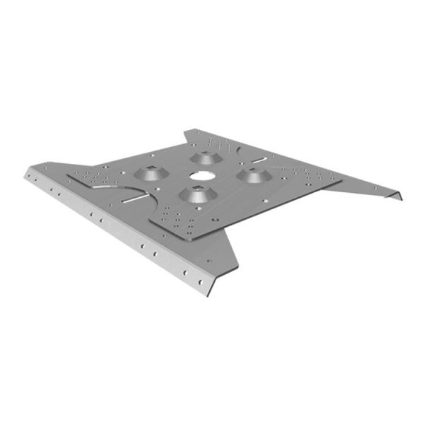 FISCHER Corrugated trapezoidal metal plate inox for poles PG 206-315 C - 1
