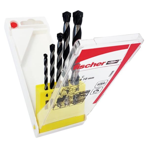 FISCHER Set of 5 concrete drill bit SDX - 1