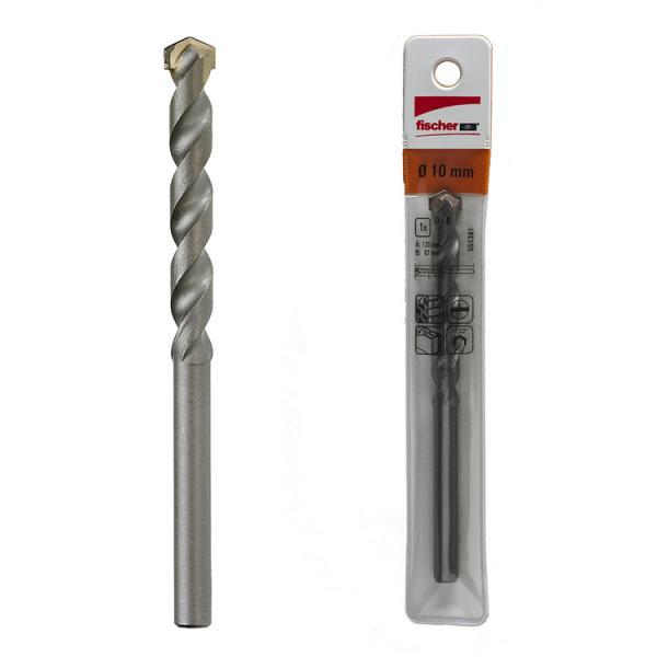 FISCHER Cylindrical stone drill bit with carbide tip PMN - 1