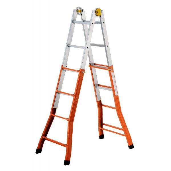 GIERRE Teleskopisch sicher Leiter - 2