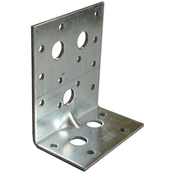 FISCHER Ribbed heavy angle hot-dip galvanized bracket XAUB - 1