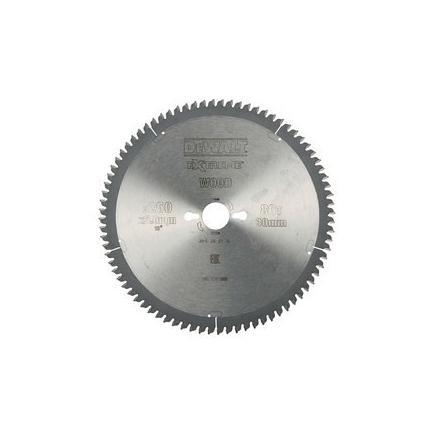 DeWALT Kreissägeblatt für Stationärsäge - Kunststoff, Furnier un Aluminium. - 1