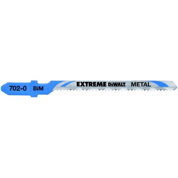 DeWALT Stichsägeblatt für Metall- Kurvenschnitte (1.5-4 mm) - 1