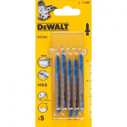 DeWALT Stichsägeblatt für Metall- 2.5-6mm Schnitte - 1