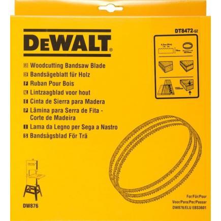 DeWALT Alligator® Bandsägeblatt für DW 876 - Holz- Längs- und Querschnitte - 1