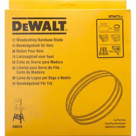 DeWALT Alligator® Bandsägeblatt für DW 876 - schnelle Schnitte in Holz - 1