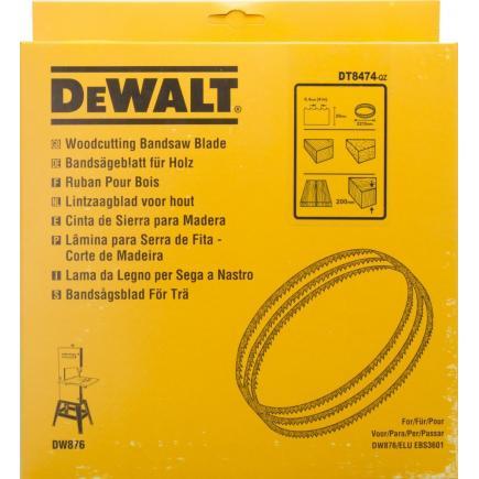 DeWALT Alligator® Bandsägeblatt für DW 876 - Holz un Kunststoffe- Längsschnitte - 1