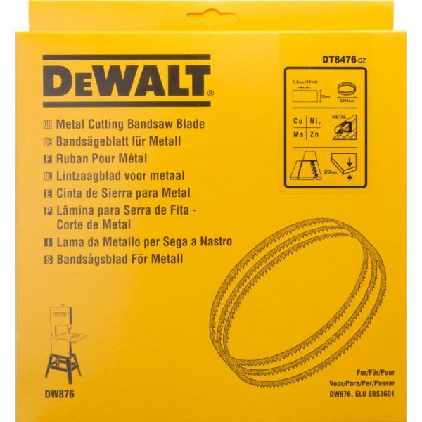 DeWALT Alligator® Bandsägeblatt für DW 876 - NE-Metall und größere Materialstärken - 1