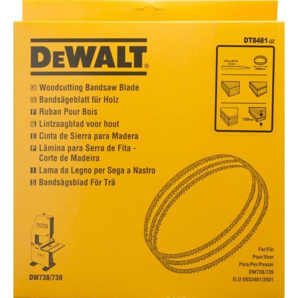 DeWALT Bandsägeblatt für DW738-9 - Universalsägeblatt - 1
