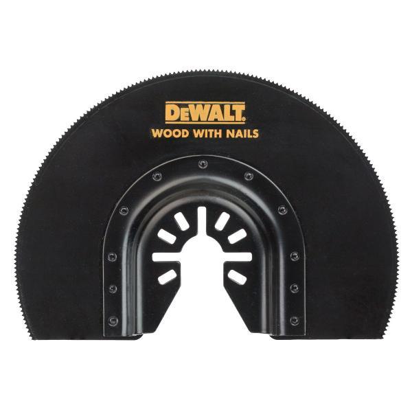 DeWALT Segmentsägeblatt für Multi Tool 102 mm Durchm, gekröpft - 1