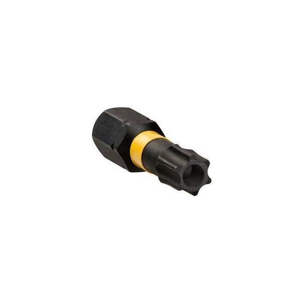 DeWALT 2x T20 50mm Impact Torsion und magnetischer Bitring - 1
