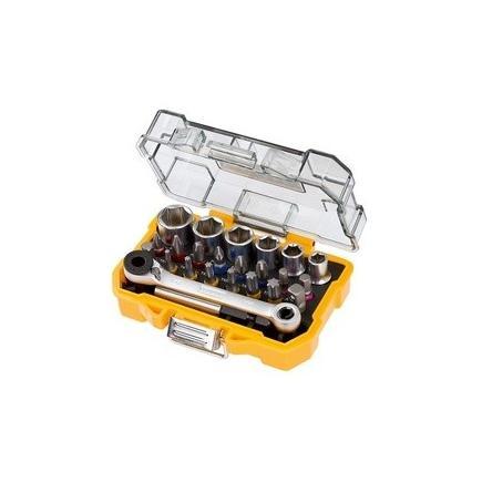 DeWALT Schraubensatz + Umschlatknarre - 1