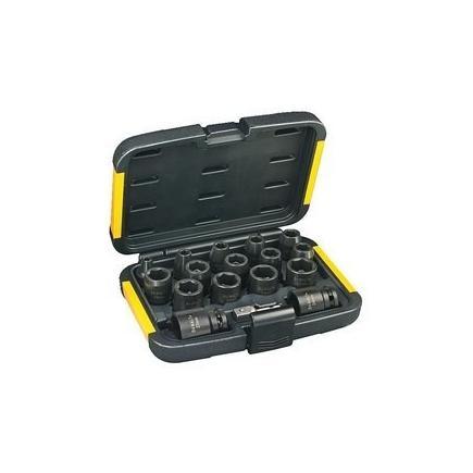 DeWALT 11-tlg Steckschlüsselsatz für Schlagschrauber - 1
