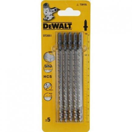 DeWALT Holzstichsägeblatt - bis 85mm Schnitttiefe- schnelle Kurvenschnitte - 1