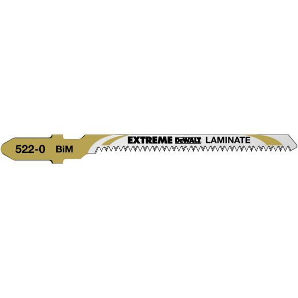 DeWALT Holzstichsägeblatt- Kurvenschnitte in Laminaten (bis 15mm) - 1
