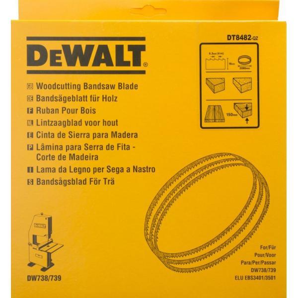 DeWALT Bandsägeblatt für DW738-9 - Holz- größere Materialstärken - 1