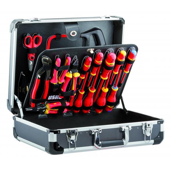 USAG Werkzeugkoffer für Elektrotechnik (20-tlg) - 1