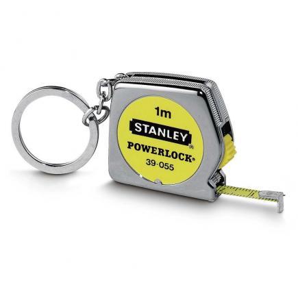 STANLEY Bandmass Powerlock 1M Mit Schlüsselring - 1