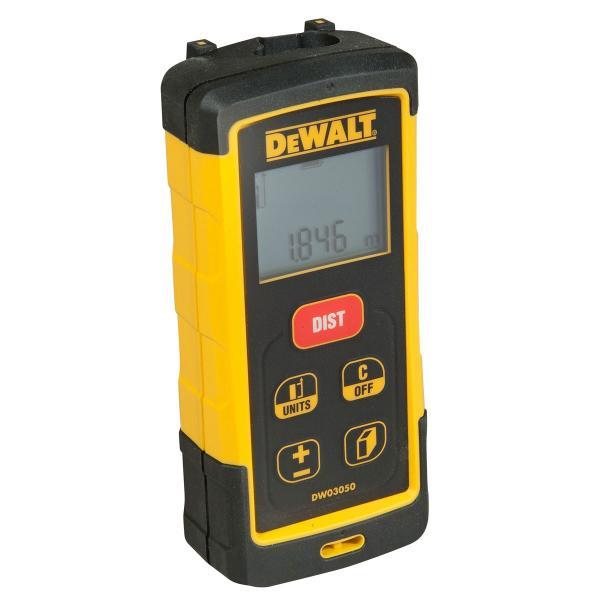 DeWALT Laser-Distanzmesser - 50m Messgenauigkeit +-- 1,5 mm - 1