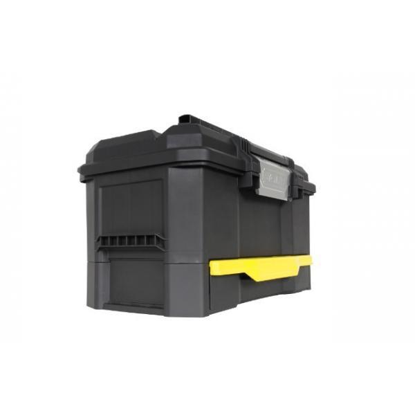 STANLEY Kunststoff Werkzeugbox Mit Integrierter Schublade - 1