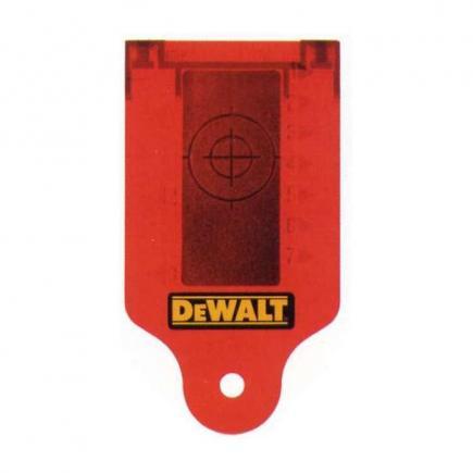 DeWALT Laser Zieltafel - Zielkarte - 1