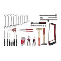 USAG - U04960005 - 496 A1 - BASIS-Werkzeugsortiment (47-teilig) | Mister Worker®