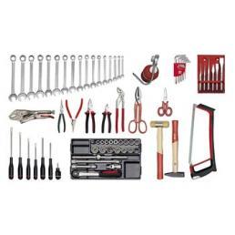 USAG - U04960007 - 496 A2 - BASIS-Werkzeugsortiment (73-teilig) | Mister Worker®