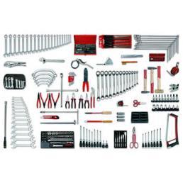 USAG - U04960025 - 496 B4 - Werkzeugsortiment KFZ (235-teilig) | Mister Worker®
