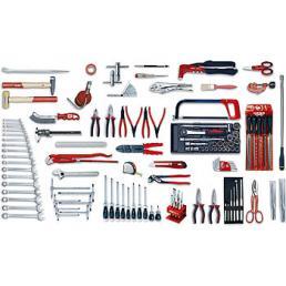 USAG - U04960046 - 496 E6 - Werkzeugsortiment INDUSTRIE (123-teilig) | Mister Worker®