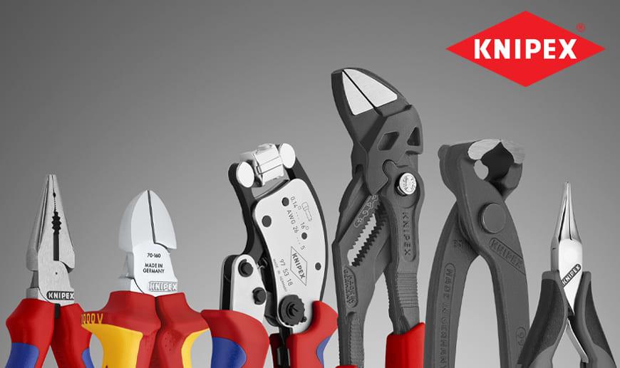 KNIPEX Gesamtkatalog: Online-Shop und angepasste Angebote | Weltweite Lieferung | Technische Beratung & Offizielle Garantie | Beste Preise.