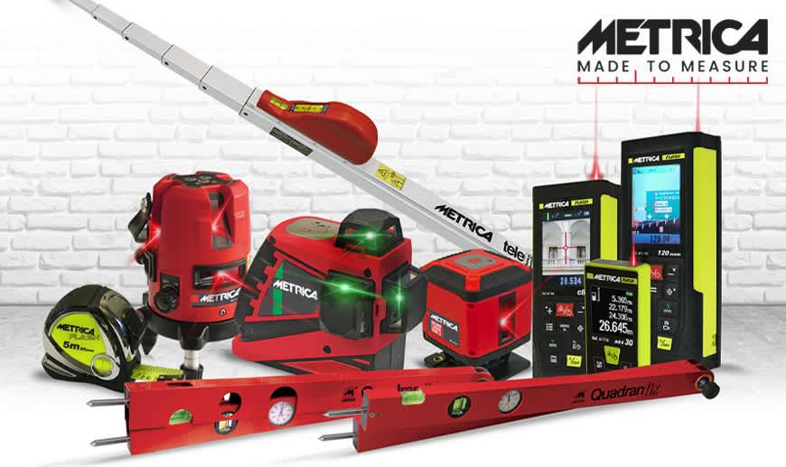 METRICA Gesamtkatalog: Online-Shop und angepasste Angebote | Weltweite Lieferung | Technische Beratung & Offizielle Garantie | Beste Preise.