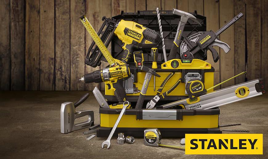 Stanley: Professionelle Werkzeuge, Werkzeugkästen und Linienlaser auf Mister Worker erhältlich