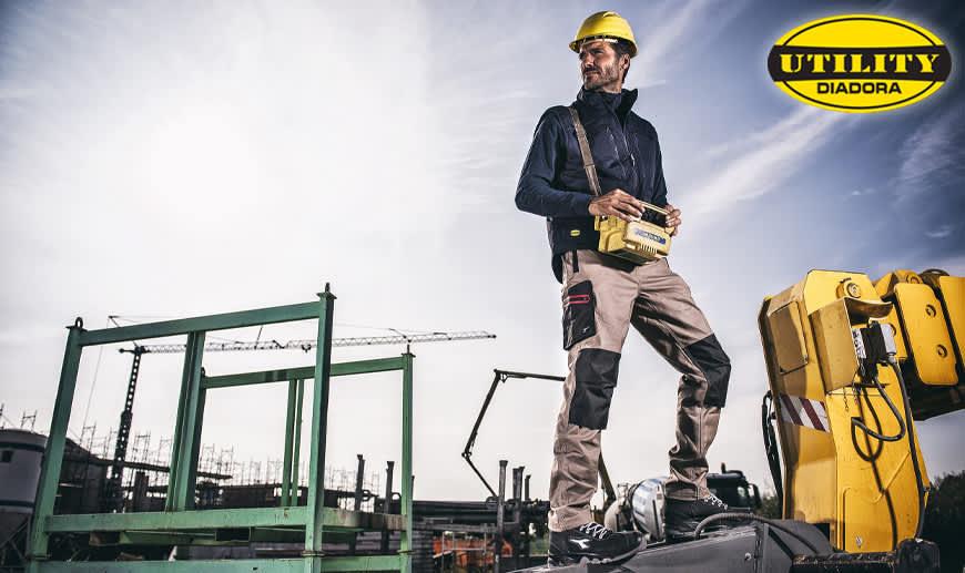 DIADORA UTILITY Sicherheitsschuhe und Arbeitskleidung | Offizieller Händler | Mister Worker™