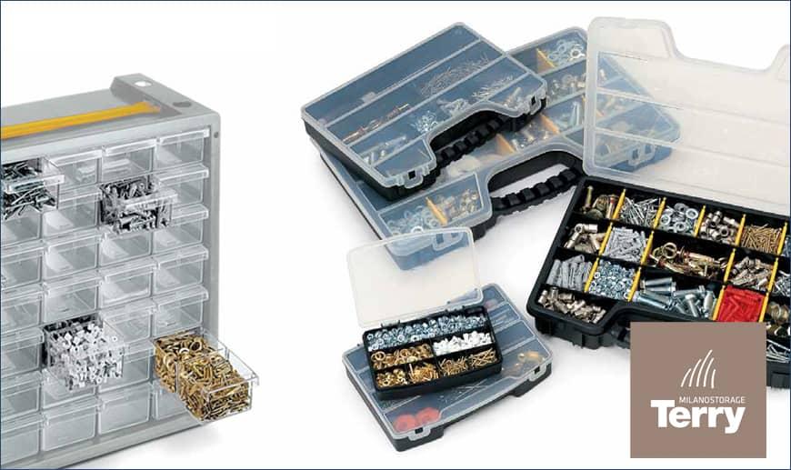 Terry: Schränke, Behälter und Kleinteilebehälter auf Mister Worker erhältlich
