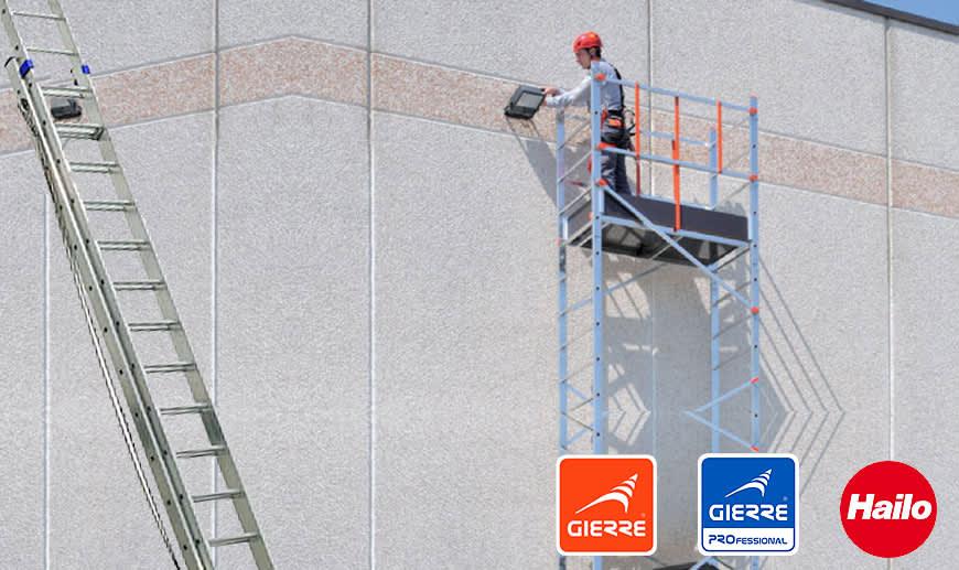 Gierre: Leiter, Gerüste und Auffahrrampen auf Mister Worker erhältlich
