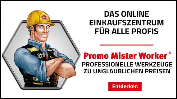 Mister Worker: Das online Einfkaufszentrum für Profis