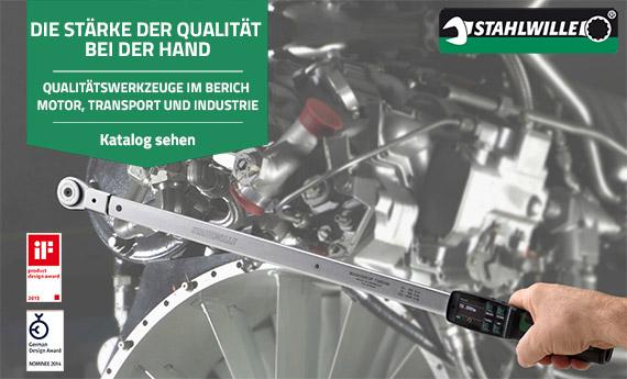 Stahlwille: Professionelle Werkzeuge, Dynamometrie, Werkbänke und Kalibrieranlagen auf Mr. Worker erhältlich